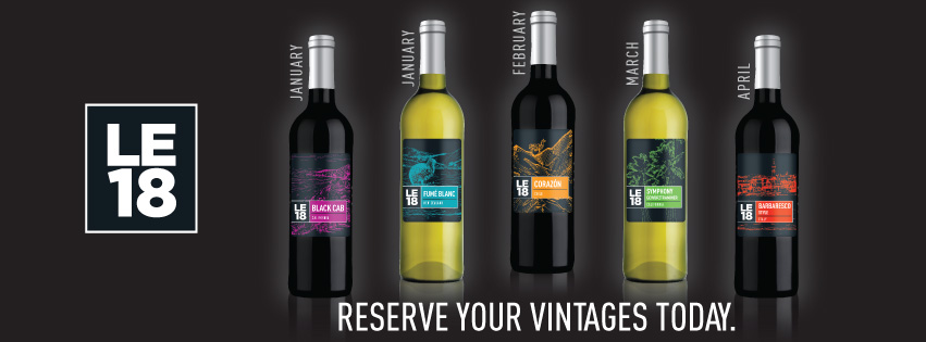 LE18 and Passport Limited Edition Wines